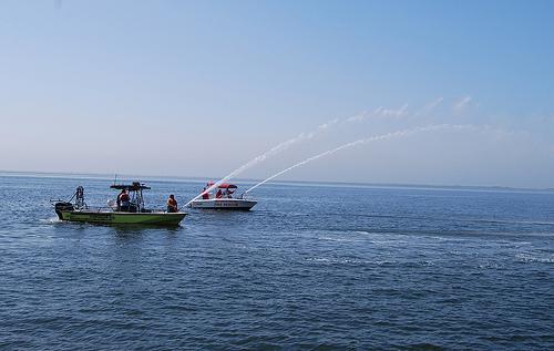 Fishing Boat Fire