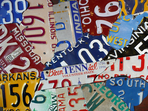 BC Licence Plates