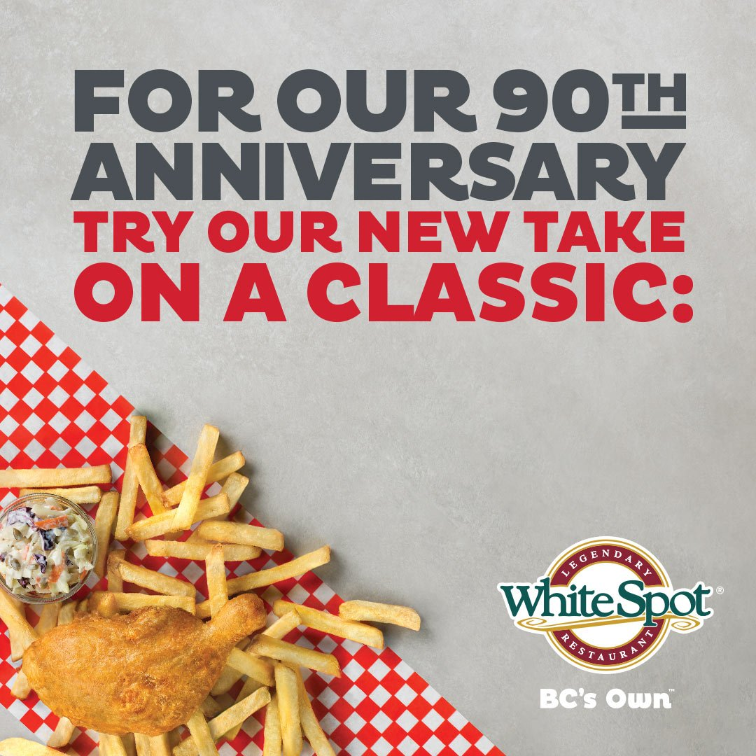 Celebrate White Spot's 90th Birthday!