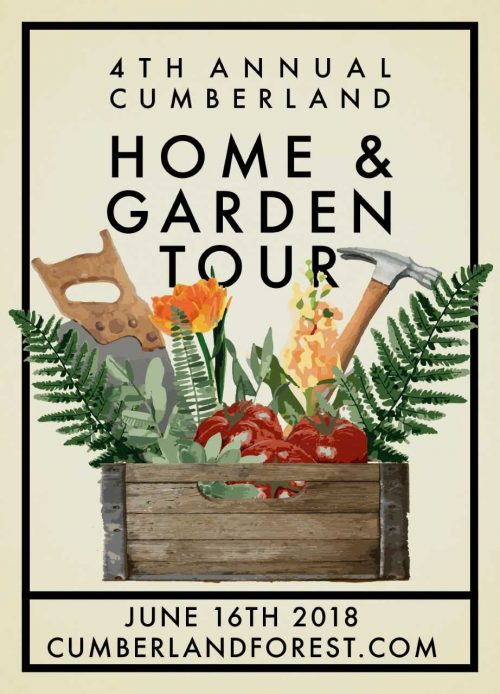 Win with 4th Annual Cumberland Home and Garden Tour