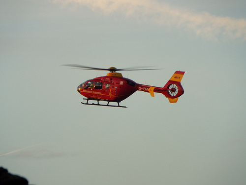 North Island Hospital heliports in operation