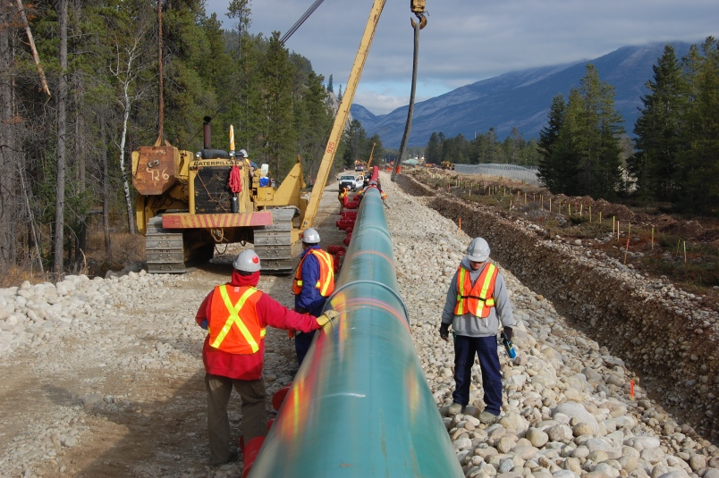 Trans Mountain has filed a construction schedule