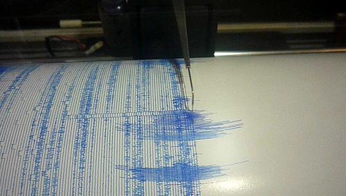 Earthquake West of Port Hardy