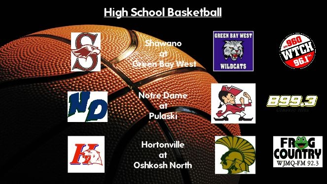 High School Basketball Broadcasts Tuesday, Dec. 20