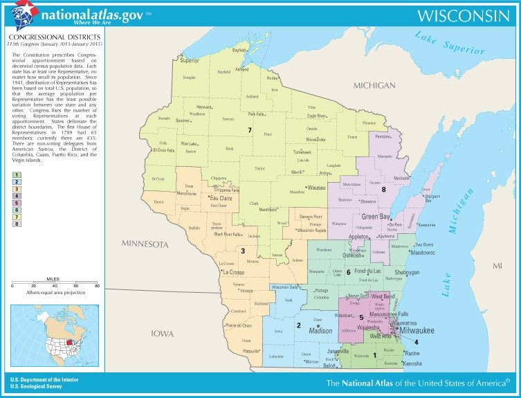 April Trial Likely For Wisconsin Political Map Tchdailynews