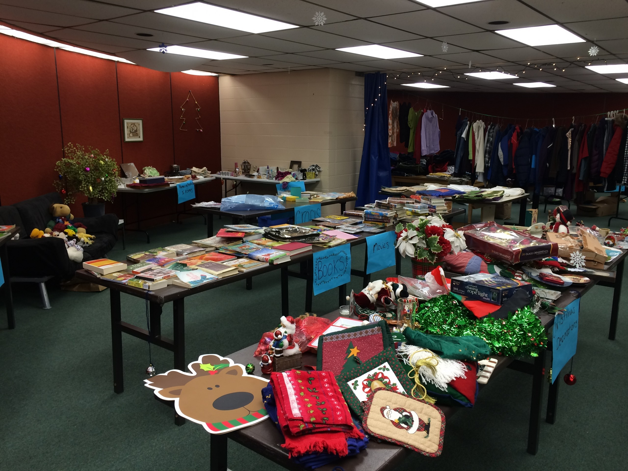 Second Chance Items Help Make Christmas Special For Local Middle School Families