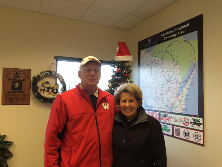 Shawano Couple Collecting Pails For Haiti