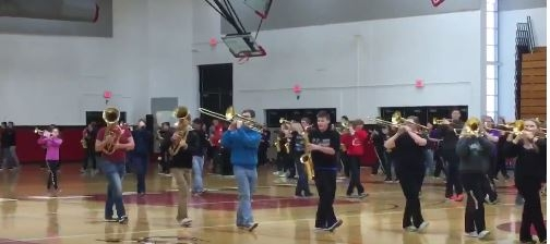 Pulaski High School Marching Band, Boosters Ready For Pasadena