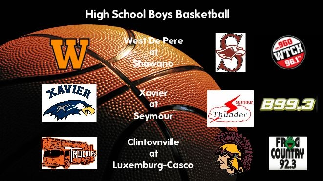 High School Boys Basketball Broadcasts: Friday, Jan. 13