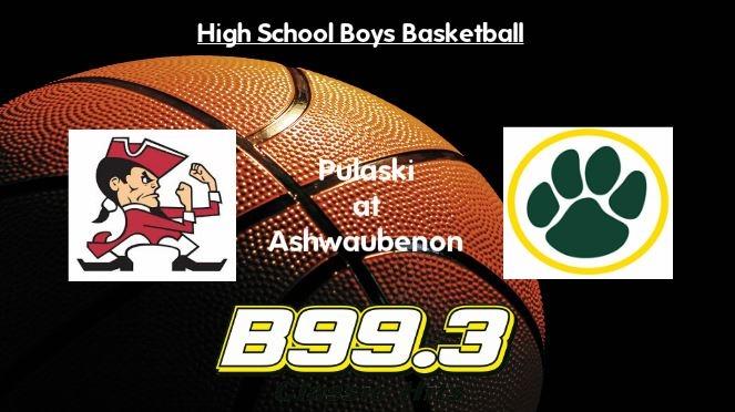 High School Boys Basketball Broadcast: Pulaski at Ashwaubenon