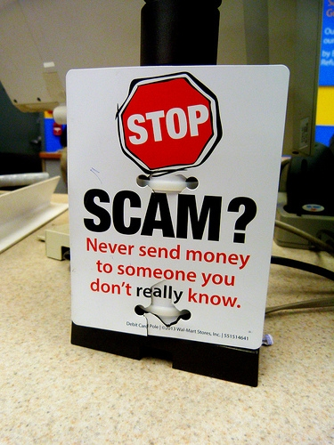 Authorities warn of scams throughout the area
