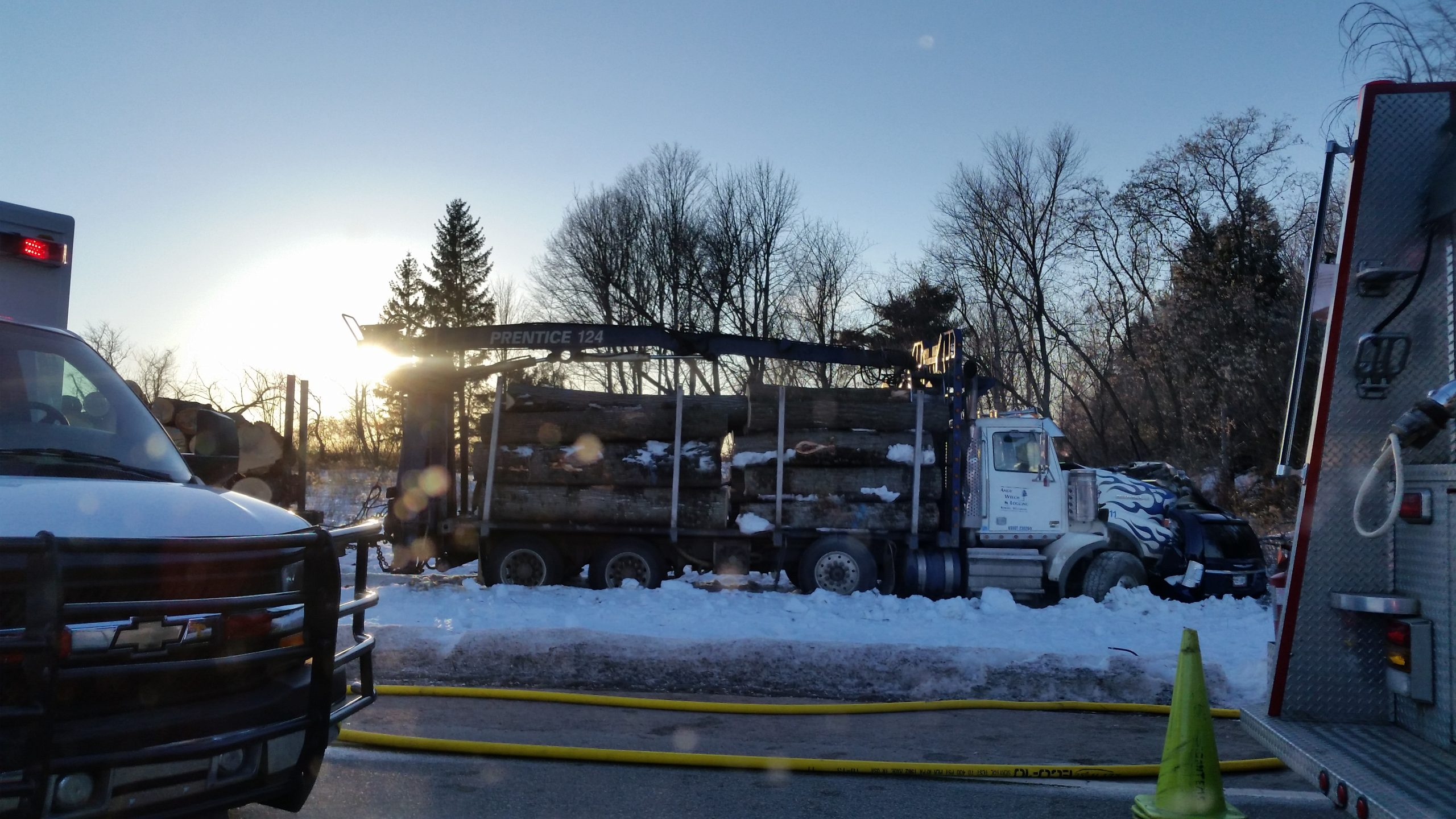 Shawano County Log Truck Accident Kills Two (Victims Identified)