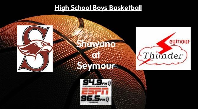 High School Boys Basketball Broadcast: Shawano at Seymour