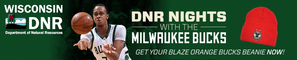 DNR teams up with Milwaukee Bucks