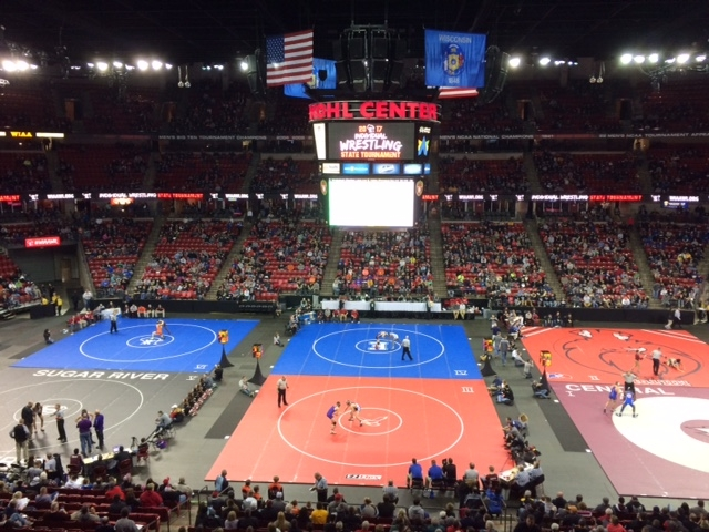 WIAA State Wrestling Placement Match Results: 10 Area Champions Crowned