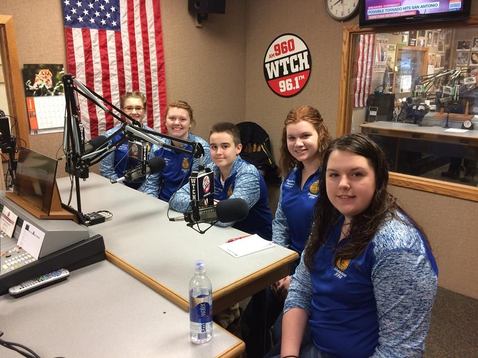 Local FFA chapters celebrate National FFA Week
