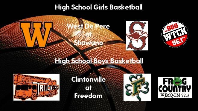 High School Basketball Broadcasts: Thursday, Feb. 2