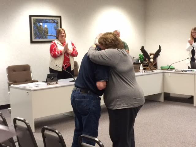 Longtime alderperson Woody Davis says goodbye to Shawano Common Council