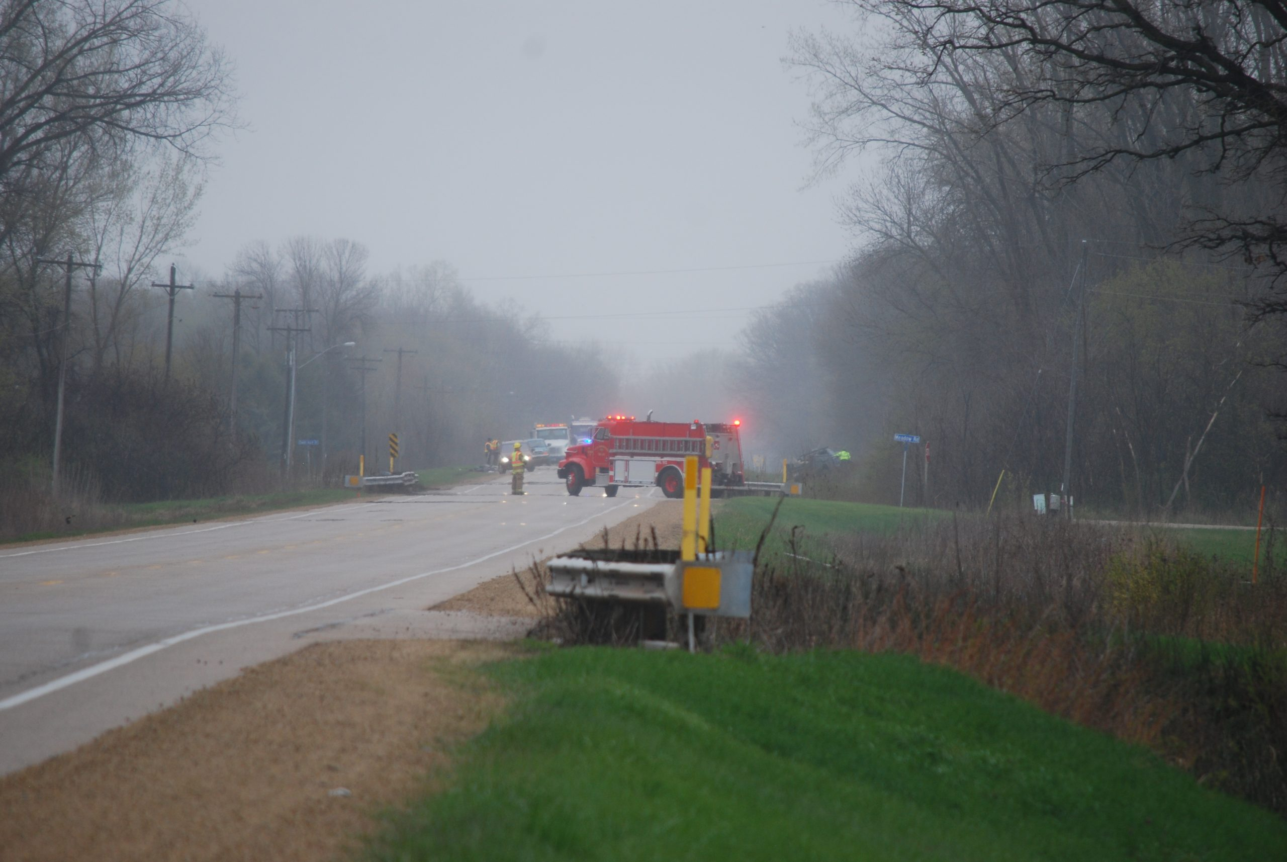 Three Injured In Shawano Co. Accident Monday