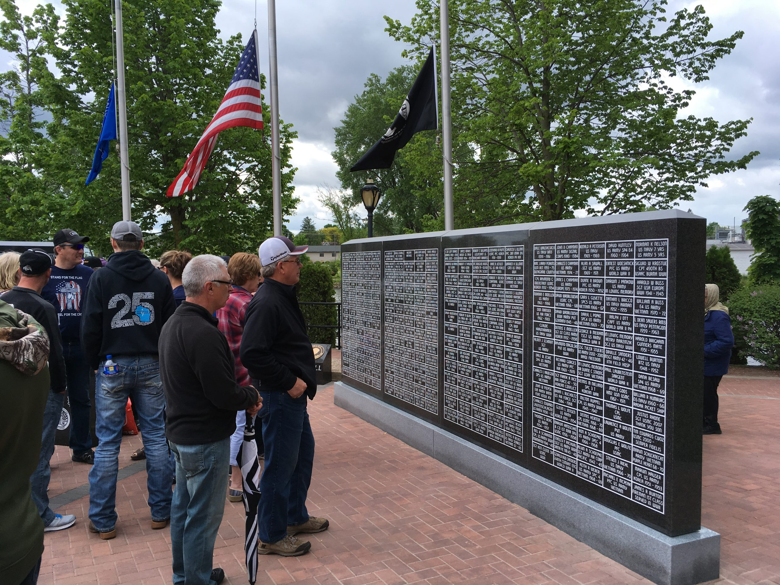 Public Gets First Look At New London's New Memorial Site