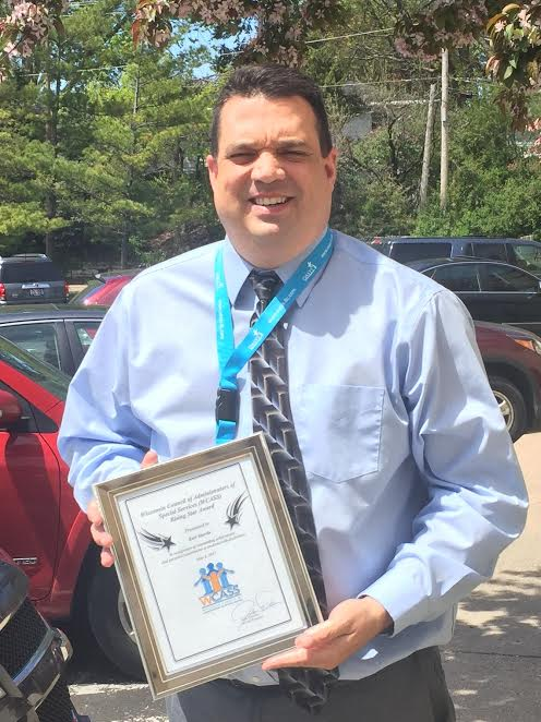 Menominee Indian School District staff member recognized with state award