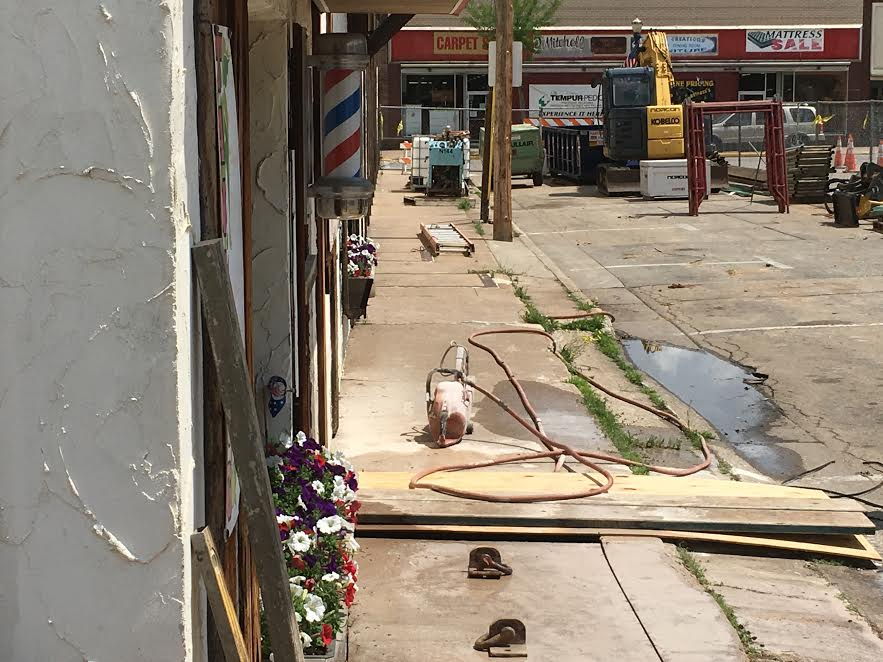 End in sight for 9th Street sidewalk repair in Clintonville
