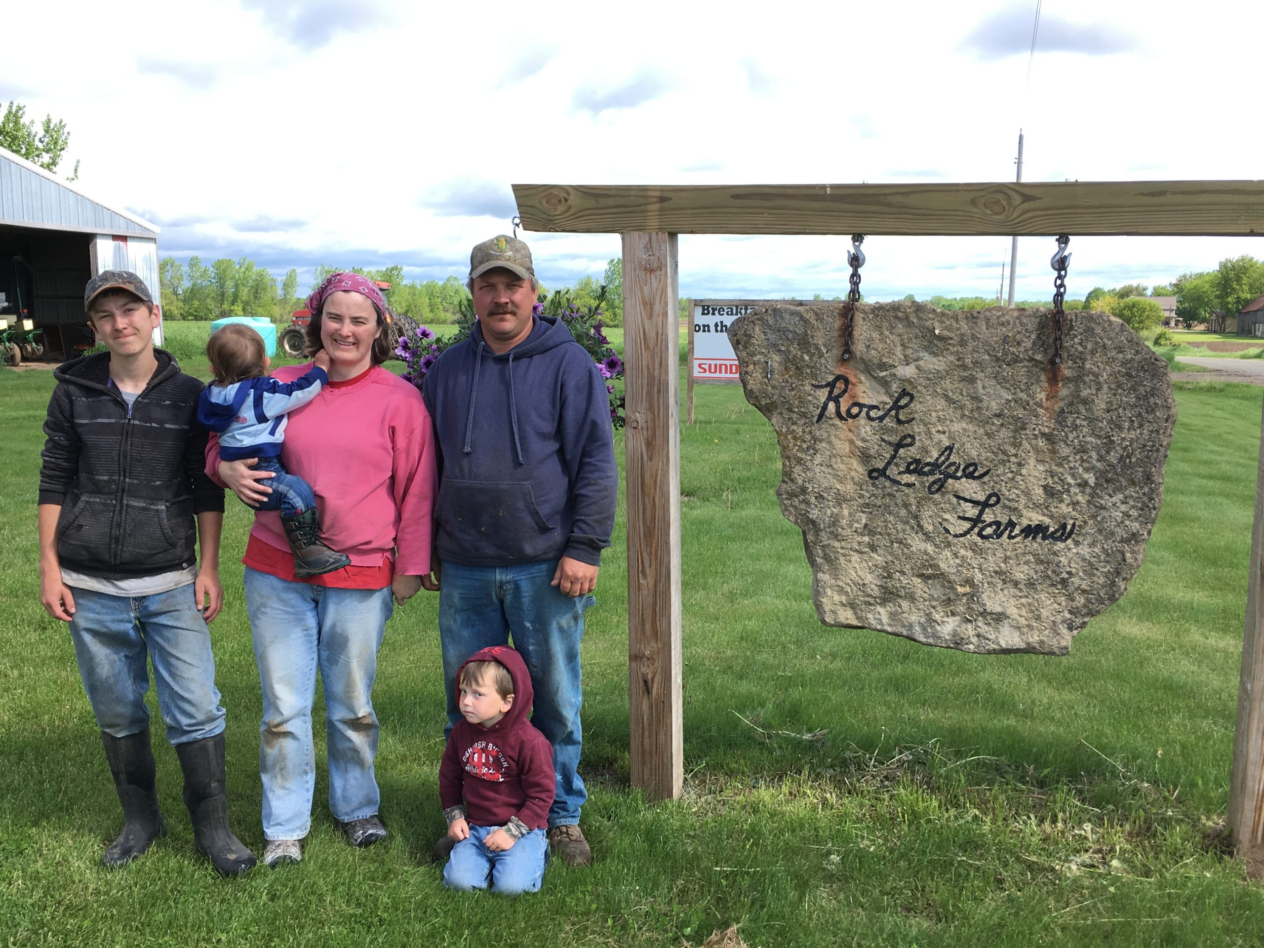 June Dairy Month Farm Stop: Rockledge Farm, Oconto County Breakfast on the Farm host