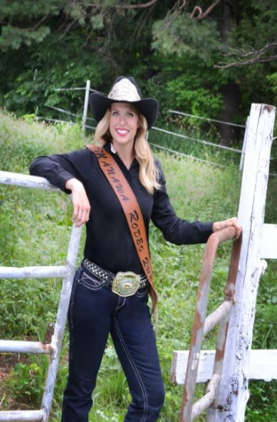 Stefanie Voight: 2017 Manawa Rodeo Queen