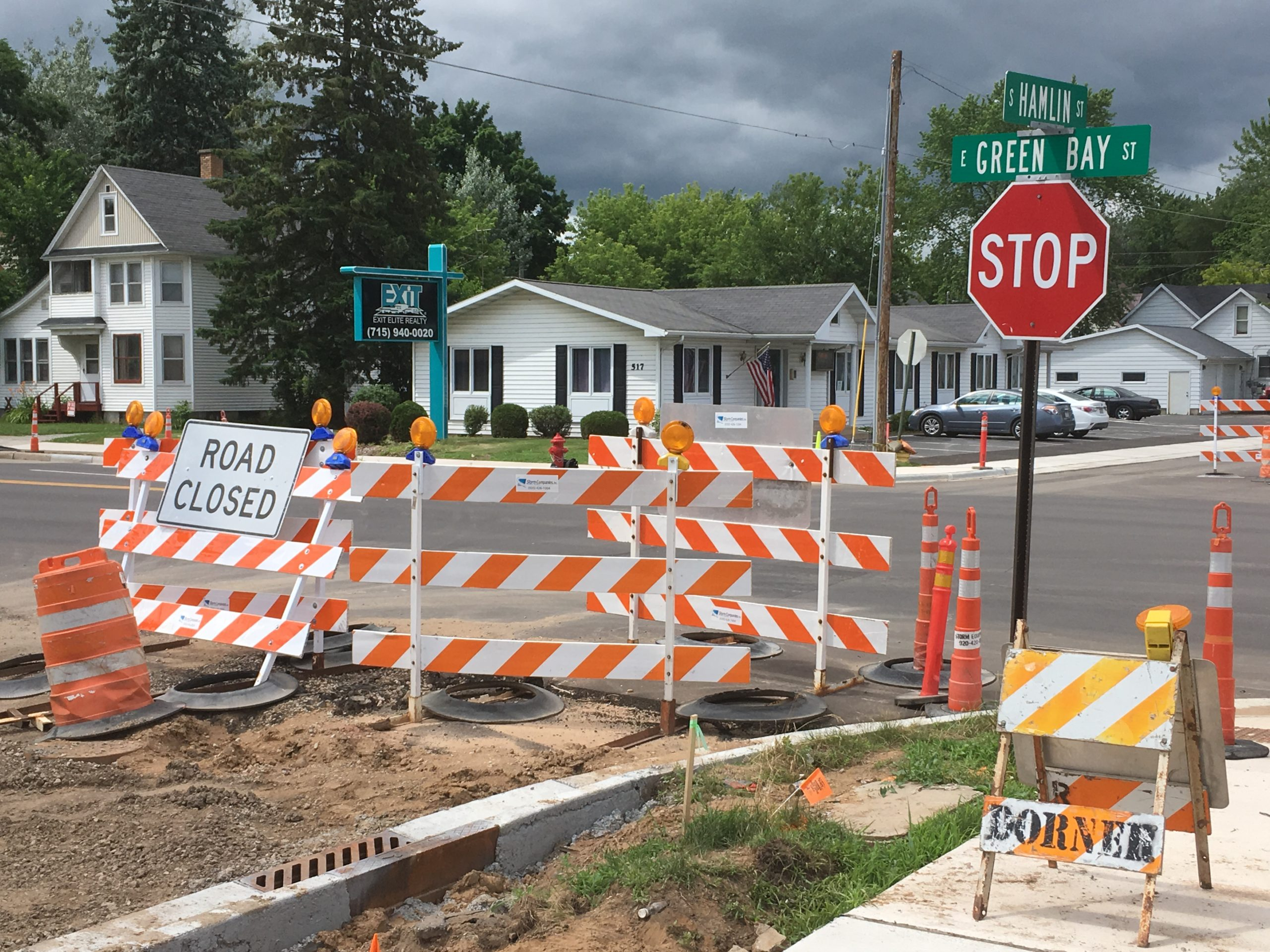 Shawano road work nears completion