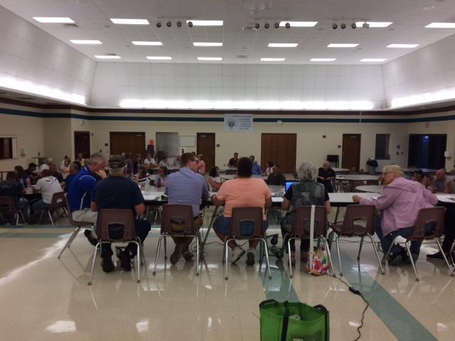 Tensions run high at Wednesday night's Bonduel Village Board meeting