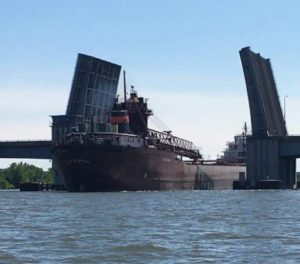 Green Bay officials continue to evaluate damage caused by cargo ship