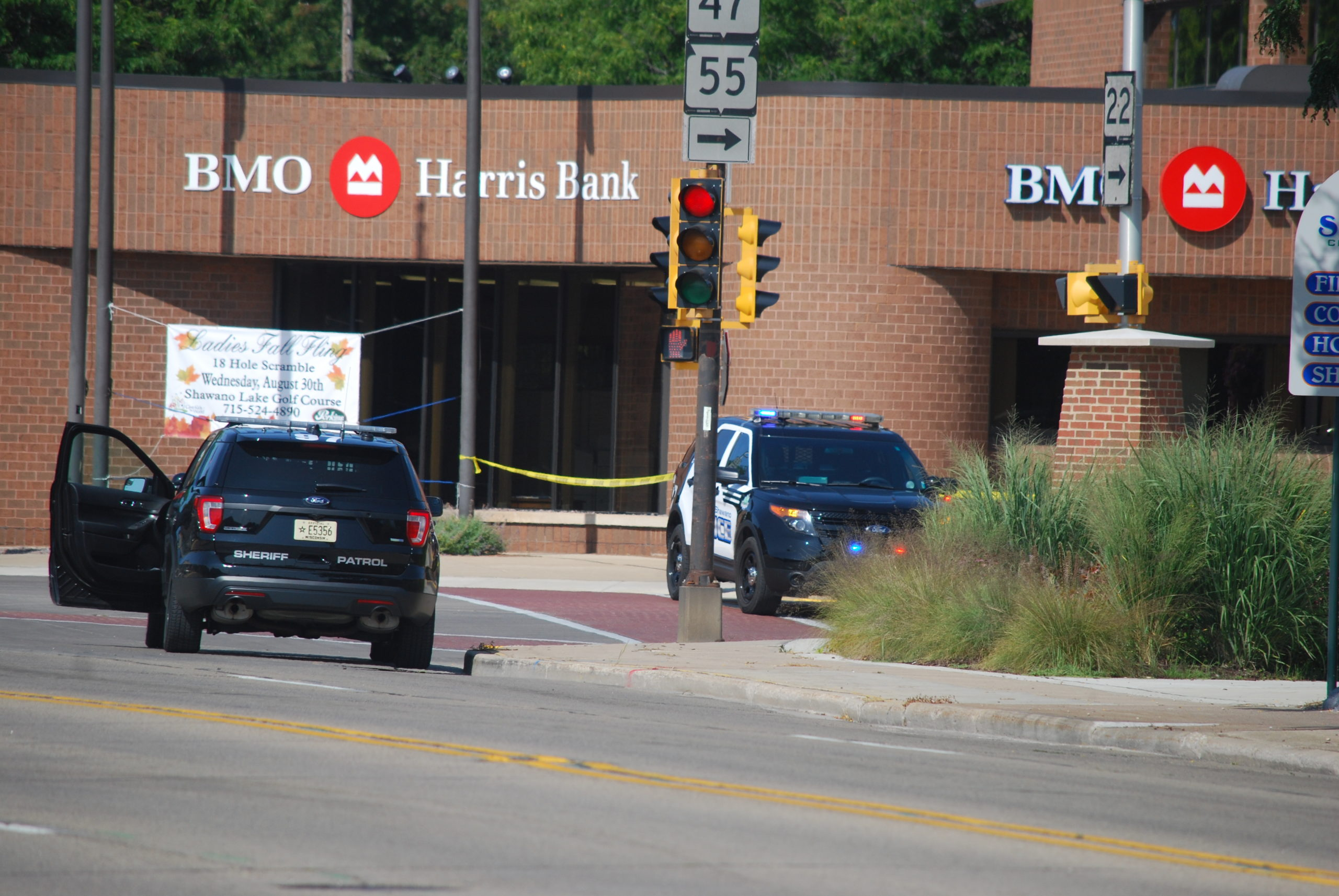 Shawano Police Clear The Scene Of A Suspicious Package At BMO Harris Bank