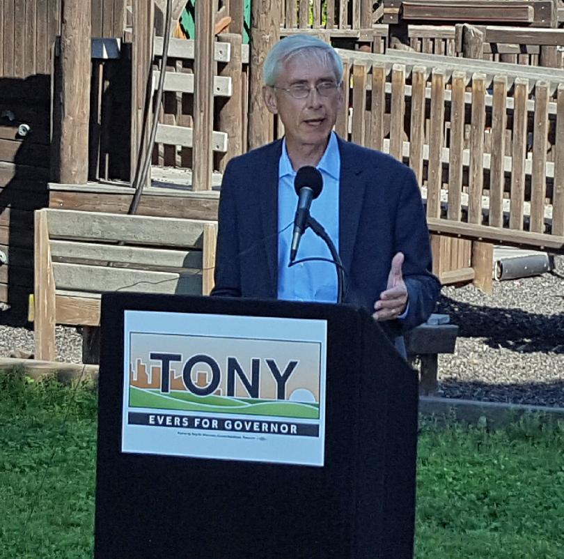 Tony Evers announces run for Governor