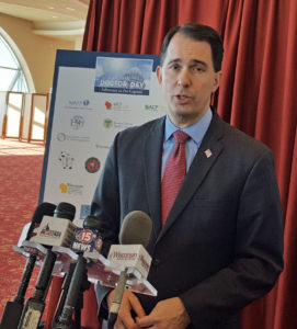Walker open to gas tax hike to access federal transportation dollars