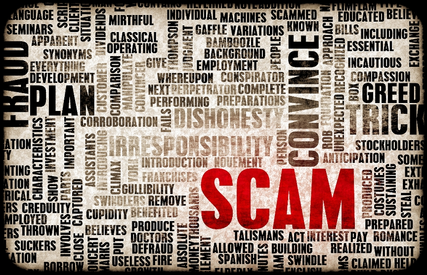 Consumer Protection Directer Urges to watch for Scam Artists