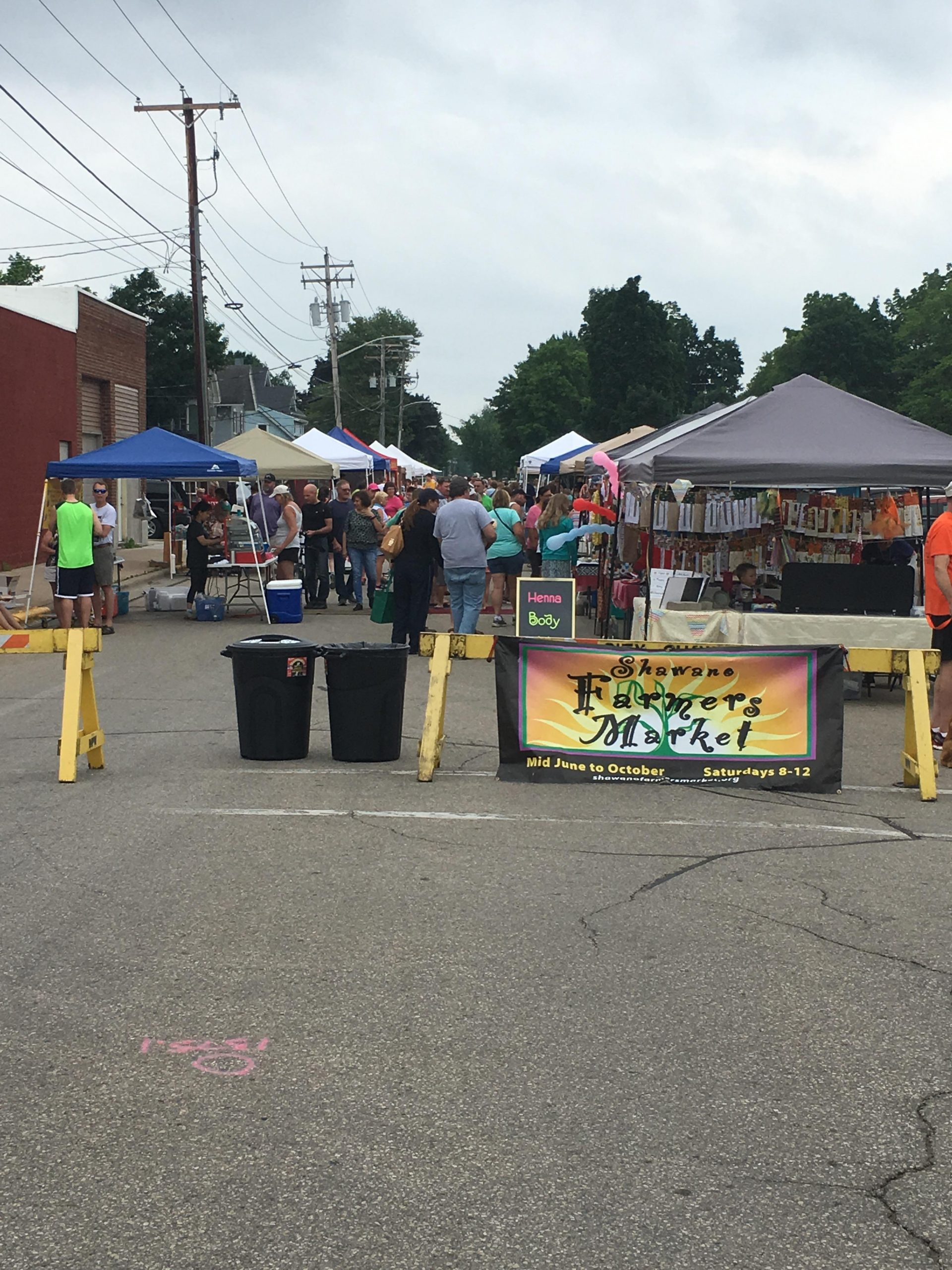 First Week of Shawano Farmer's Market a Success
