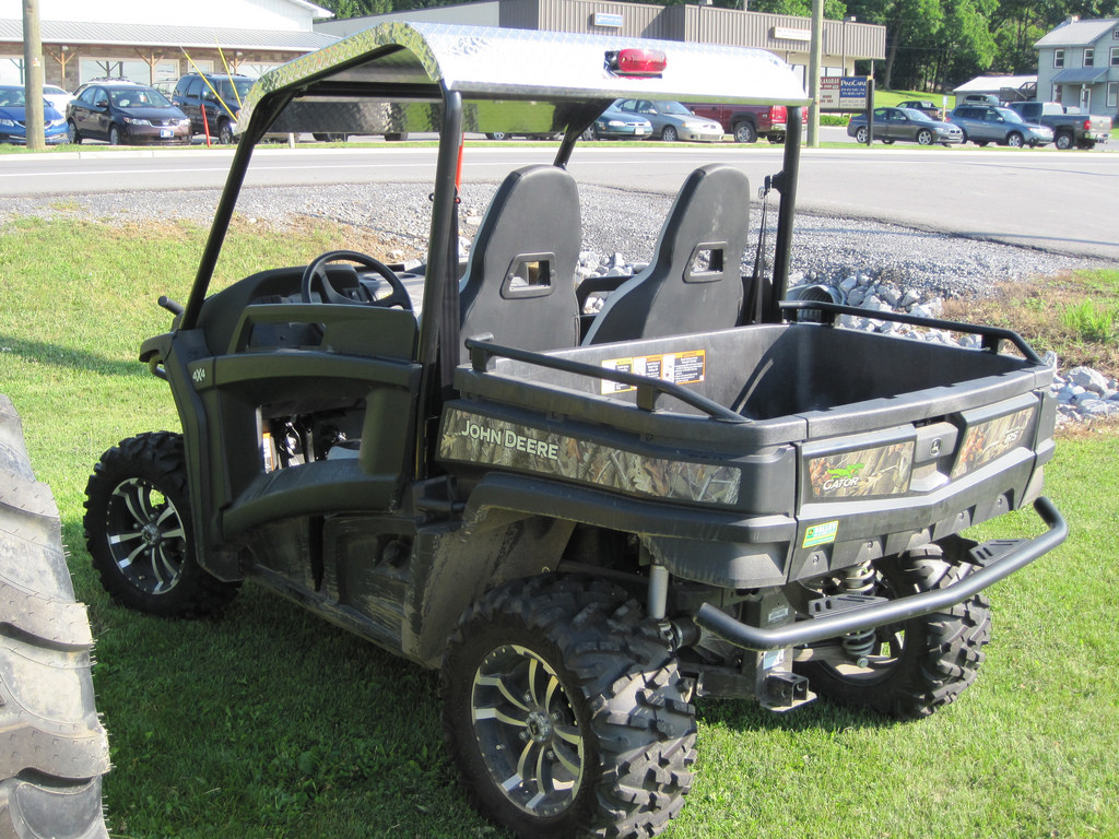 Oconto will see Gator Vehicles on Streets starting tomorrow