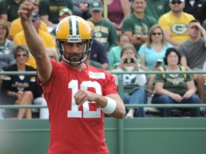 Rodgers voices displeasure with young receivers