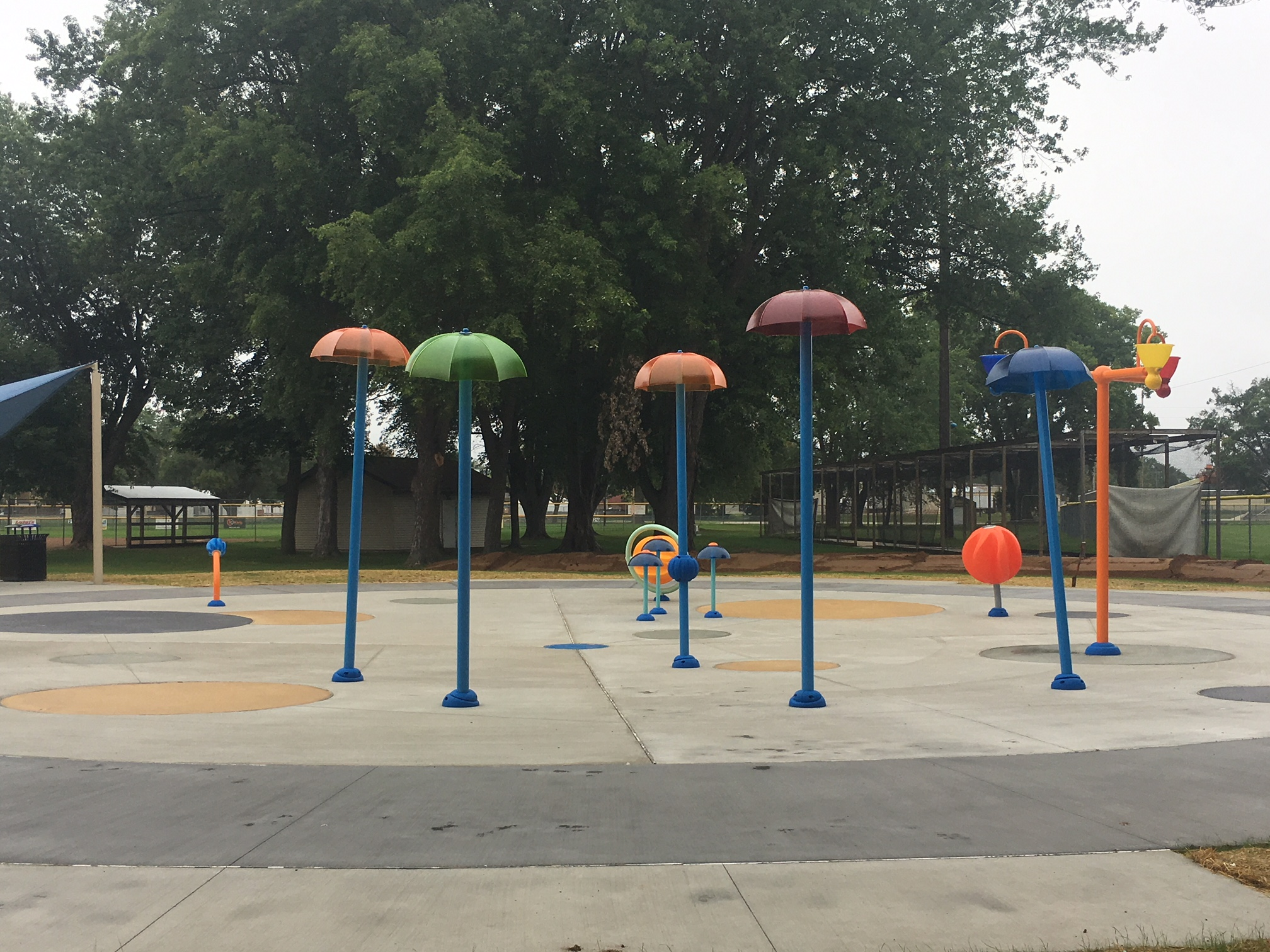 Opening for Splash Pad Close