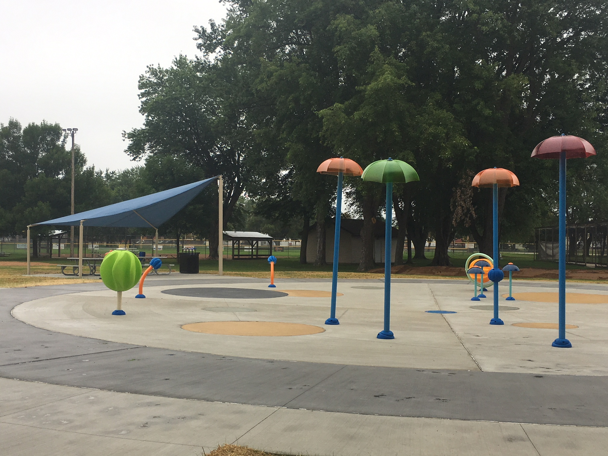 Shawano Splash Pad near Completion