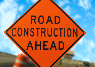 Construction Continues near South Junction