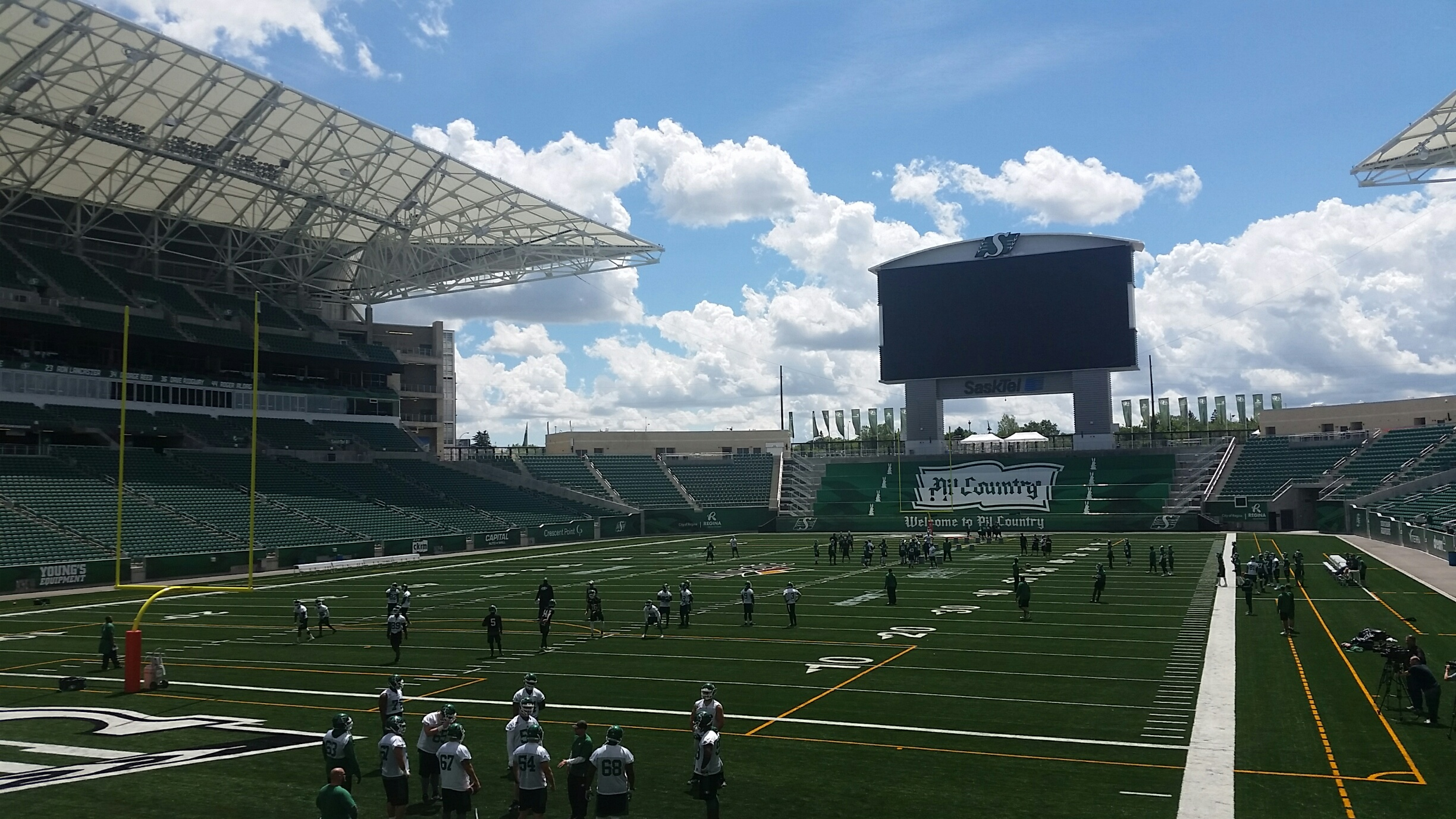 'Still takes my breath away' Riders are ready to open Mosaic