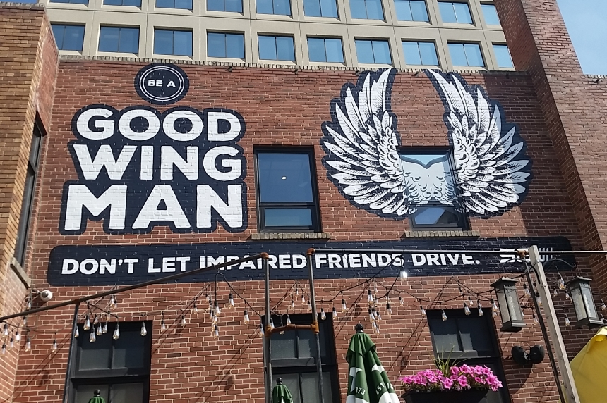 'Be a Good Wingman:' SGI asks friends to stop drunk driving