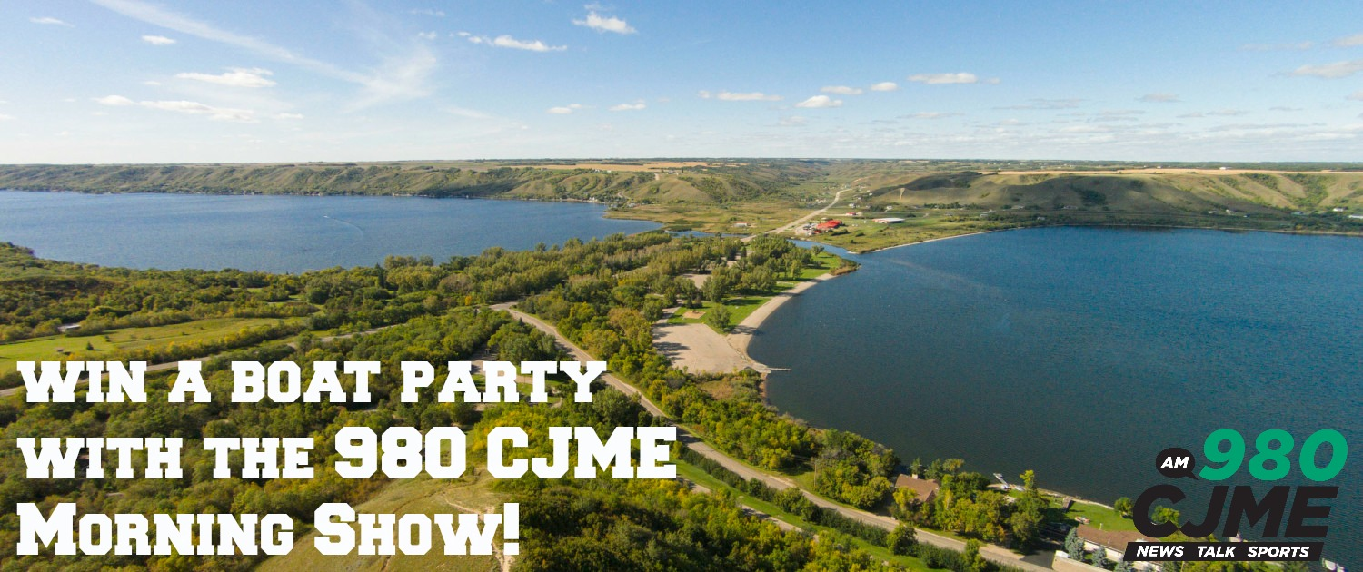 Win a Boat Party with the 980 CJME Morning Show!