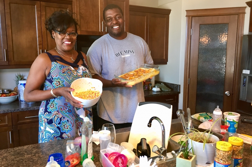 Belton Johnson celebrates July 4th with comfort food