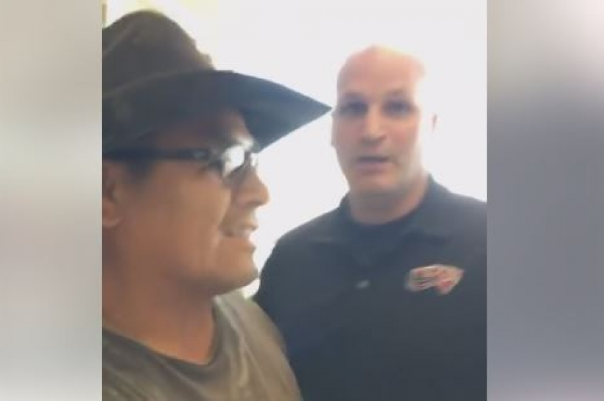 Indigenous man accused of stealing at Canadian Tire speaks out