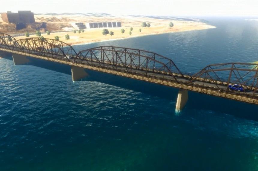Saskatoon unveils drawings of new Traffic Bridge