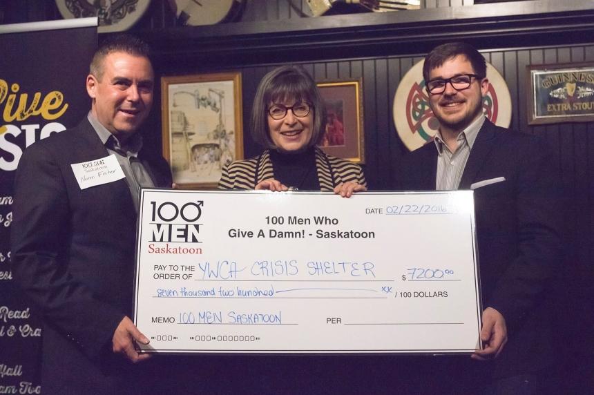 Men who give a damn raise $7K for YWCA Crisis Shelter