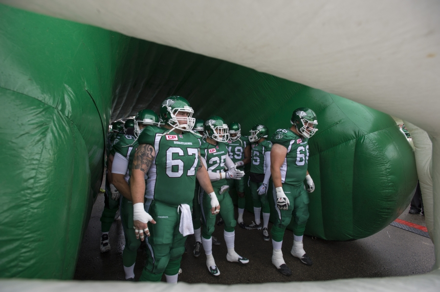 GAME DAY: Riders battling Stampeders at Mosaic Stadium