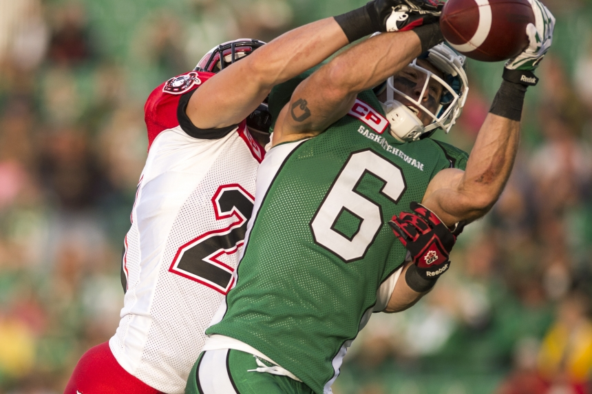 GAME DAY: Riders vs Stampeders week 9 depth charts